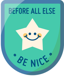 Before all else, be nice